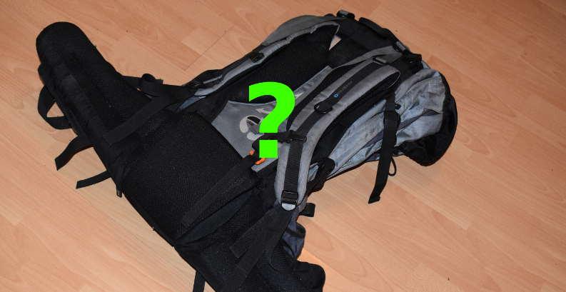 Jak správně zabalit batoh?
