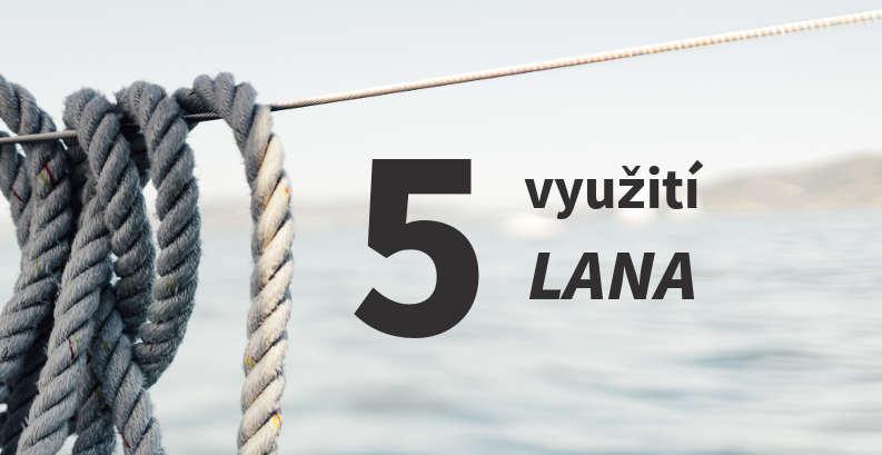 5 způsobů jak v přírodě využít lano