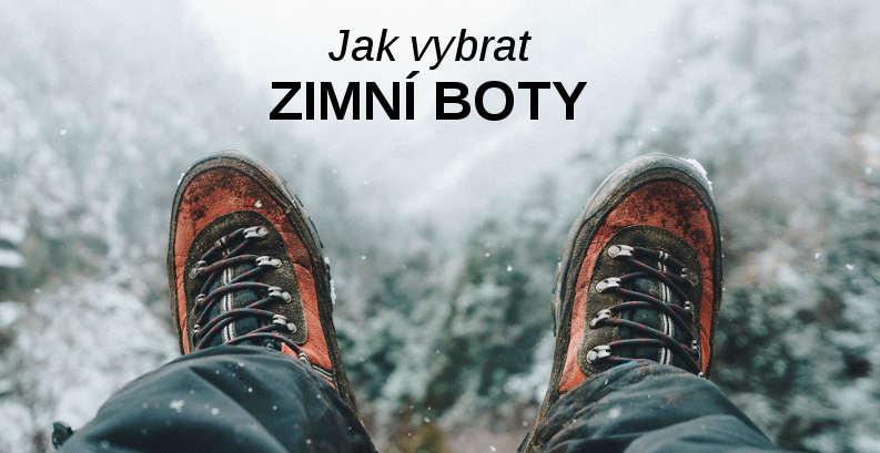 Zimní boty nevybírejte podle období ale podle účelu