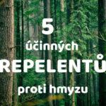 5 účinných repelentů proti hmyzu
