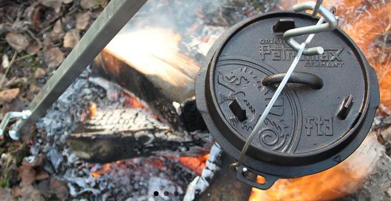 Kotlík na oheň – vaříme vpřírodě