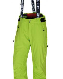 Pánské zimní kalhoty Husky Mitaly M Velikost: XL / Barva: zelená