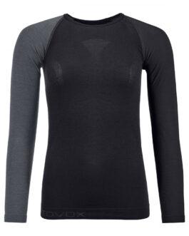Dámské funkční triko Ortovox 120 Comp Light Long Sleeve W Velikost: L / Barva: černá